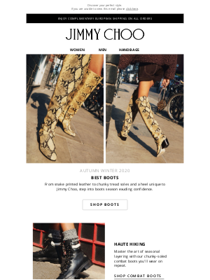 Jimmy Choo - Our Best Boots Of The Season