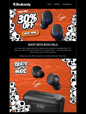 Skullcandy Inc. - 30% off Spoke - Today Only!