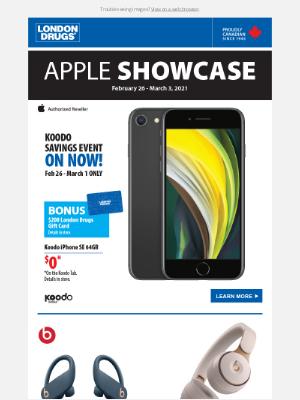 London Drugs (CA) - Apple Showcase on now!