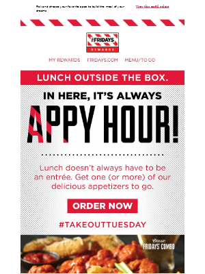 TGI Fridays - 'Appiness When You Need It