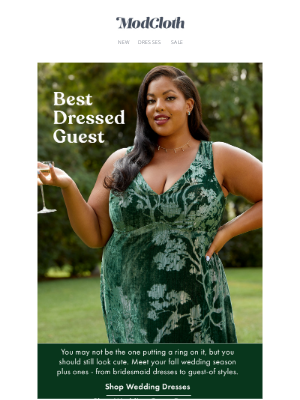 """ModCloth - Say """"I do"""" to wedding guest styles."""