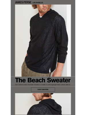 James Perse Ent. - The Beach Sweater