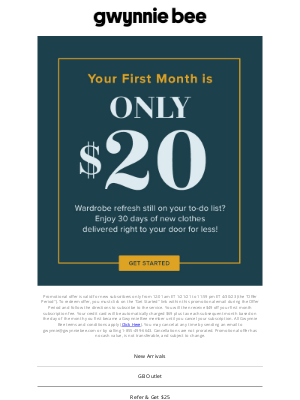 Gwynnie Bee - Exclusive: Save on your first month