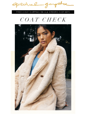 Spiritual Gangster - Layer Up In Love ❄️ Statement Coats Of The Season