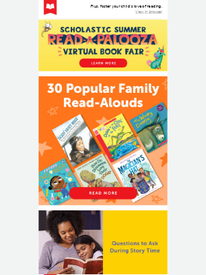 Popular Read-Alouds for the Whole Family