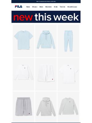 Fila Inc. - New This Week