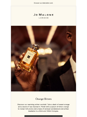 Jo Malone - Orange Bitters Cologne returns
