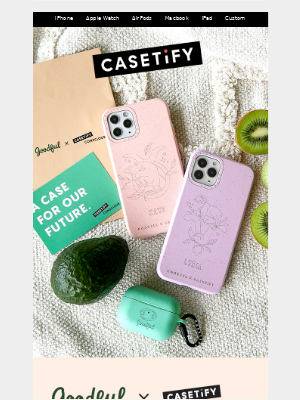Casetify - New! GOODFUL x CASETiFY CONSCiOUS 🌎