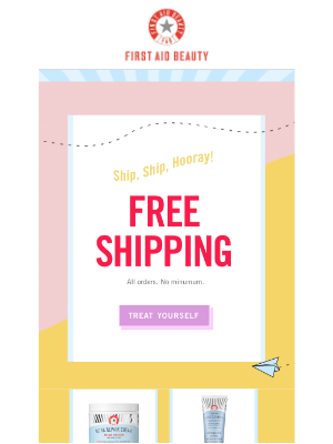 Free Shipping on All FAB Orders 📦