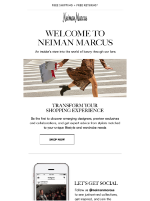 Neiman Marcus - Get a peek into our world...