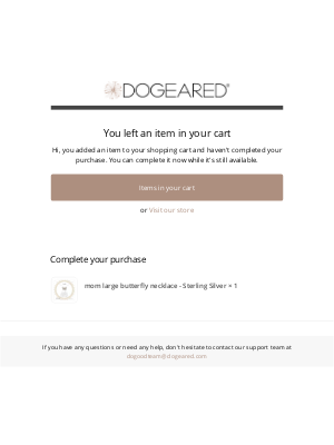 Dogeared - Complete your Purchase