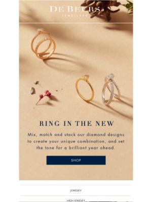 De Beers - Ring in the new