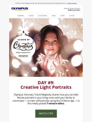 Olympus - Day #9: Light Portraits +