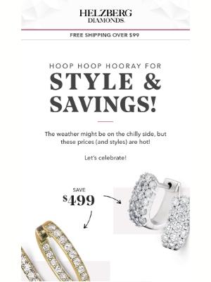 Helzberg Diamonds - 3 Words: Sparkle. On. Sale.