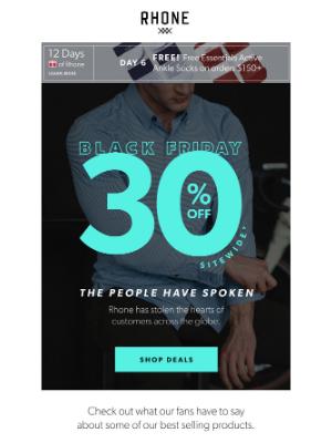Rhone - 5-Star Deals 🤩  30% Off Sitewide 🤩