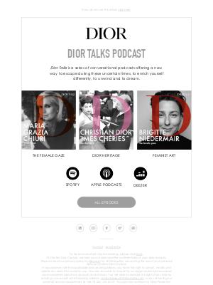 Dior Talks – Your Summer Get Together 🎙️