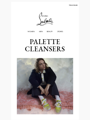 Christian Louboutin - Gentlemen prefer pastels