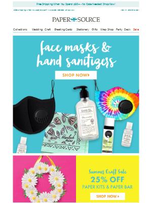 Our Top Health & Wellness Picks! Face Masks, Hand Sanitizer & More.