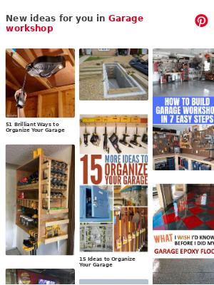 17 ideas in Garage workshop