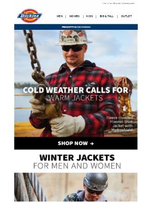 Dickies - Jacket Weather Is Here