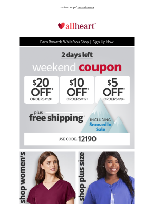 AllHeart - Your Coupon is Waiting for You Plus Save Up to 40% Off