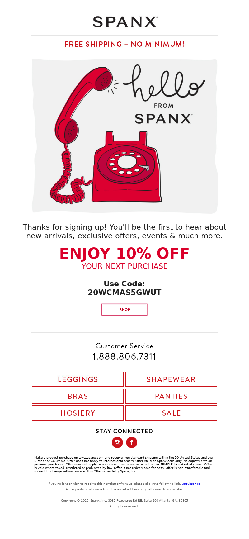 Spanx - Welcome to Spanx! Enjoy 10% Off