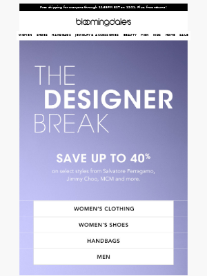 Save up to 40% on Salvatore Ferragamo, Jimmy Choo & more