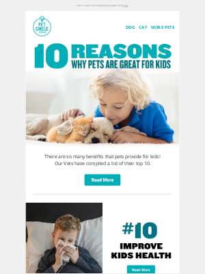 Pet Circle (AU) - 10 Reasons Why Kids Should Grow Up With Pets 🐶🐱