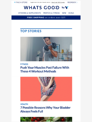 Vitamin Shoppe - 4 ways to push your muscles to the max