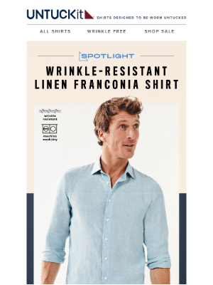 UNTUCKit - See Why Customers Love This Spring Shirt