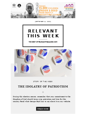 relevant - The Idolatry Of Patriotism