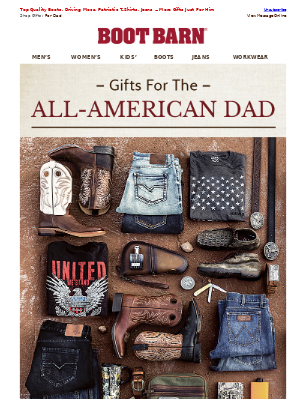 All-American Father's Day Gifts