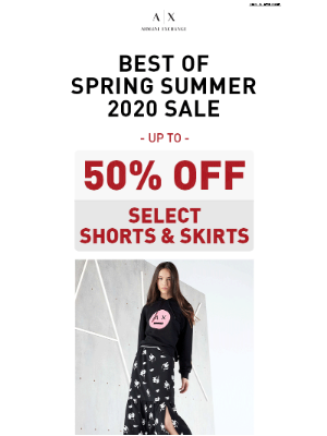 Summer Shorts + Skirts up to 50% Off