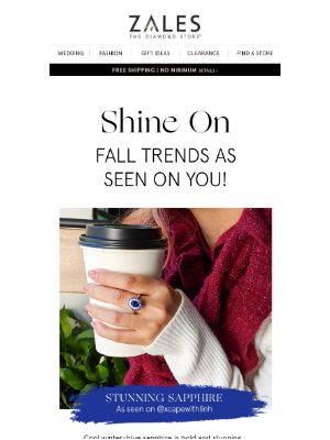 Zales - ✨ Shine ON | Our Fave Winter Trends As Seen on YOU