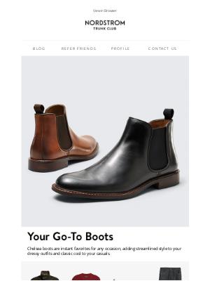Trunk Club - Style spotlight: Chelsea boots