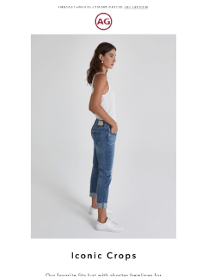 AG Jeans - Summer necessity: cropped cuts