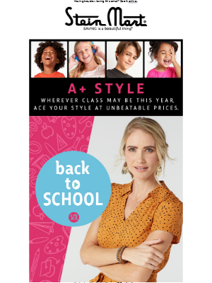 Back To School In Style