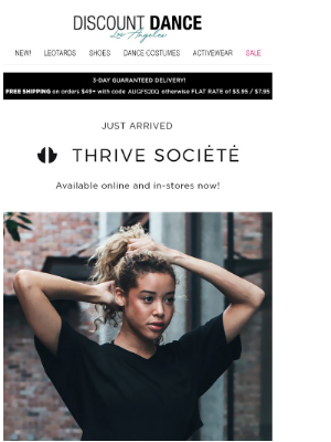 What's New Wednesday! Introducing Thrive Societe!
