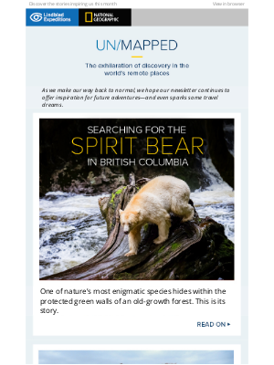 Lindblad Expeditions - ★ The latest edition… You're oh so lucky to enjoy this