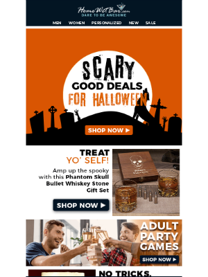 HomeWetBar - Scary Good Deals For Halloween! 🎃👻