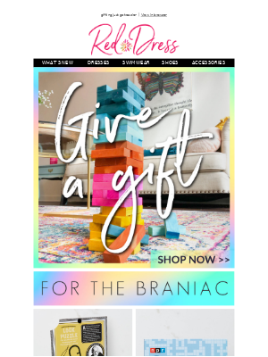 Red Dress Boutique - give the gift of FUN 💥