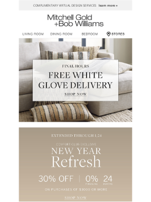 MGBWhome - New Year Refresh extended, save 30% for a limited time