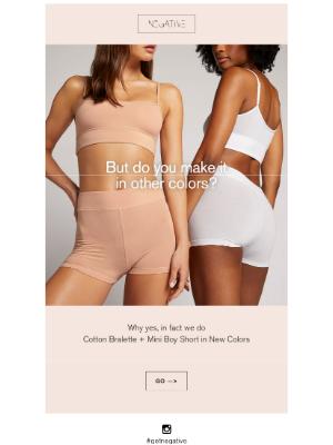 Negative Underwear - SOMETHING NEW