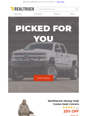 RealTruck - More of the best deals at RT