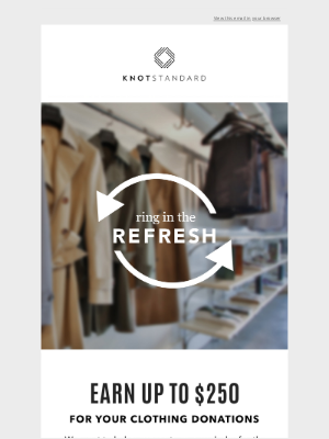 Knot Standard - RING IN THE REFRESH♻️
