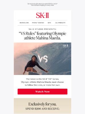 Sk-II - Watch Olympic surfer Mahina Maeda change the rules of beauty
