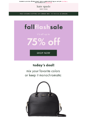last day: final opportunity to get $79 satchels and $29 wallets