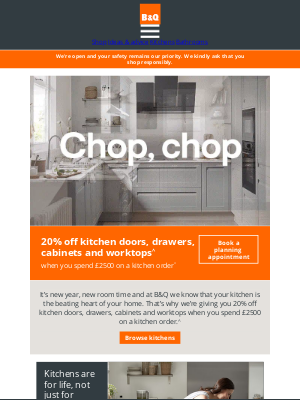 DIY at B&Q (UK) - Time for a kitchen makeover?