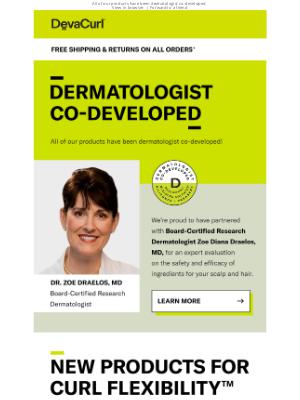 DevaCurl - Meet Dr. Zoe Draelos!