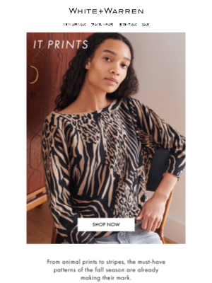 White + Warren - The Best Fall Prints for Every Style